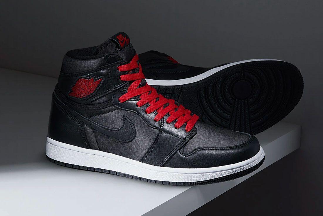 Where To Buy Air Jordan 1 Black Satin