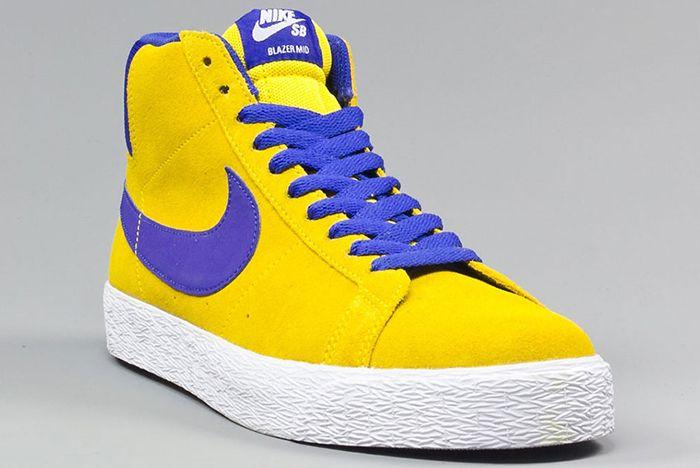 Nike Sb Blazer Mid Tour Yellow3