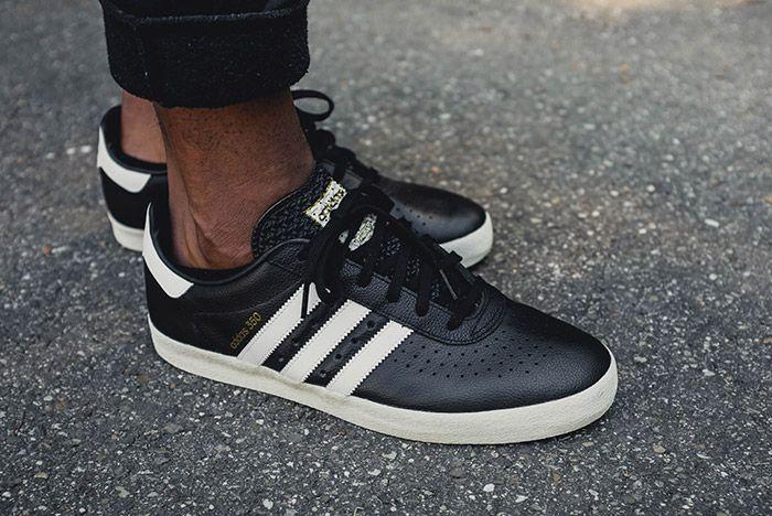 Adidas 350 Core Black 1