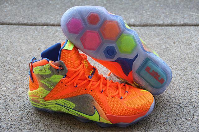 Nike Lebron 12 Nurf 1