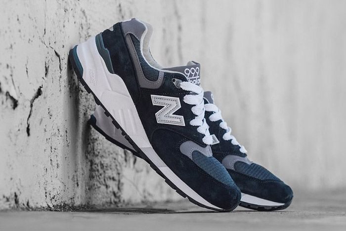 New Balance 999 Made In Usa Navy Pewter 5