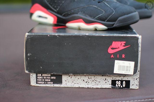 Og Air Jordan 6 Swapped Soles 4