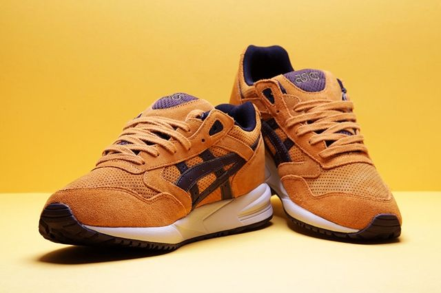 Asics Gel Saga Tan Brown Bump 1