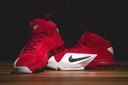 Nike Zoom Penny Vi University Red Bumper Thumb