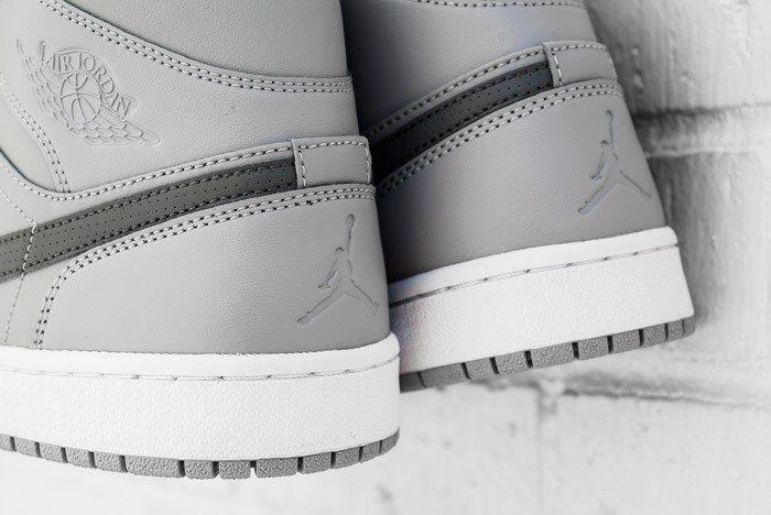 Air Jordan 1 Mid Cool Grey 3