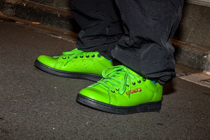 Fucking Awesome Adidas Skateboarding Stan Smith La Exclusive Green White 4 On Foot