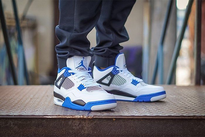 Air Jordan 4 Motorsport On Foot 3