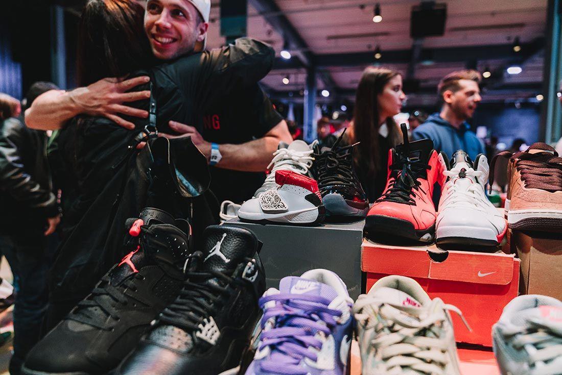 Sneakerness Even Recap People Hugging
