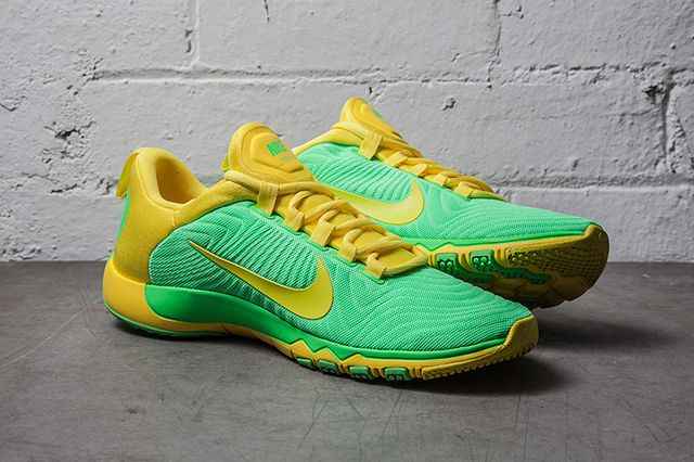 Nike Free Trainer Nrg Neo Lime Vibrant Yellow 1