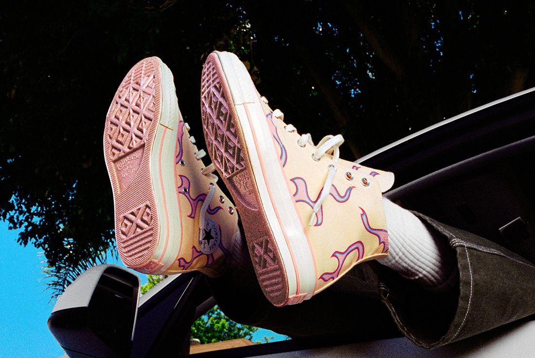 GOLF WANG x Converse Chuck 70 'Pink Flames'