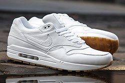 Nike Air Max 1 (White/Gum) - Sneaker