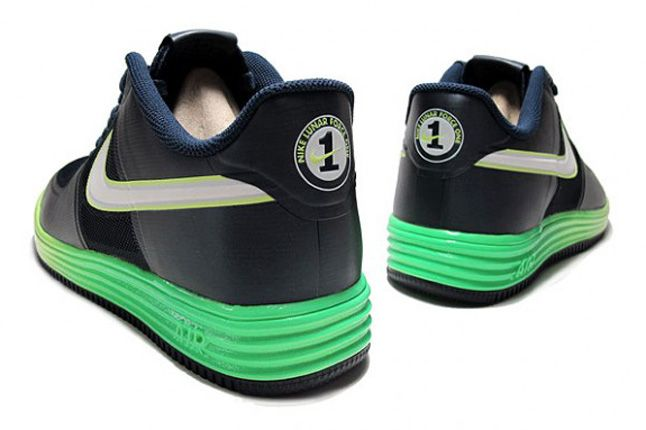 Lunar Force 1 Fuse Volt Dark Obsidian Pair Heels 1