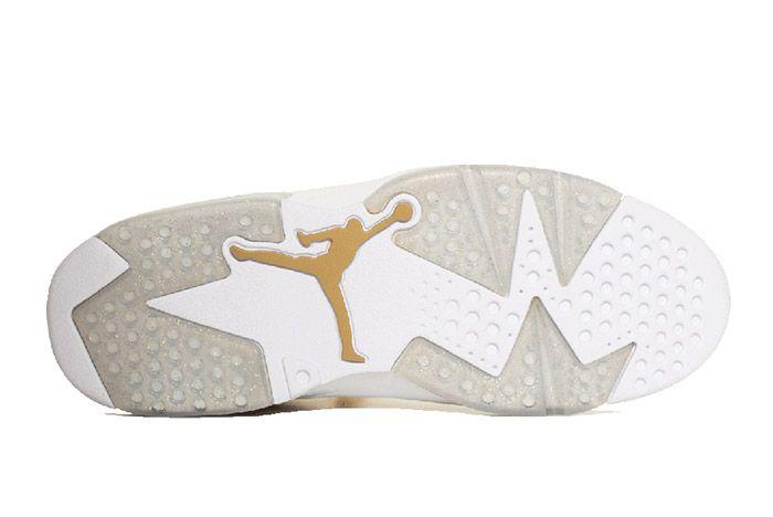 Air Jordan 6 Pinnacle Metallic Gold 1
