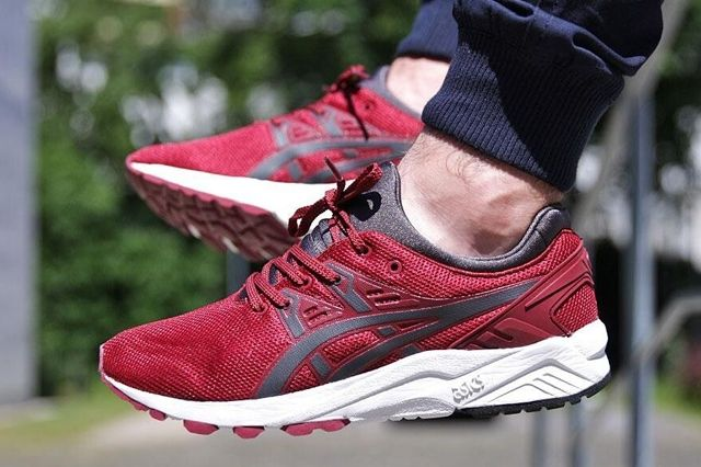 Asics Gel Kayano Burgundy 5