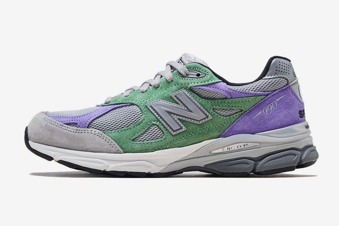 Stray Rats New Balance 990V3 Lateral Side