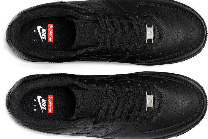 Supreme Nike Air Force 1 Low Black 2020 Release Date 1