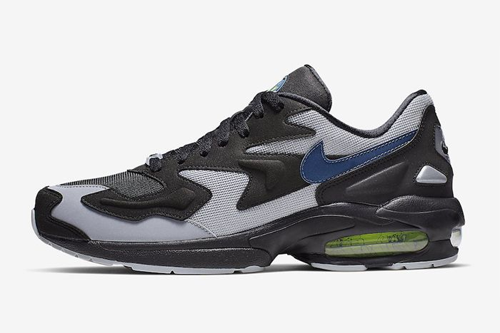 Nike Air Max2 Light Thunderstorm Ao1741 002 Release Date Side Profile