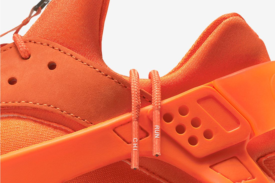 Nike Air Huarache Orange Blaze 3