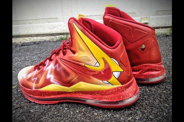 Nike Lebron X Flash Custom By Mache 1 640X426