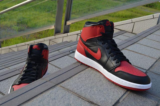 Air Jordan 1 High Og Bred 9