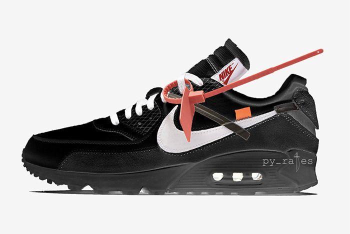 Off White X Nike Air Max 90 Black 2018 Sneaker Freaker
