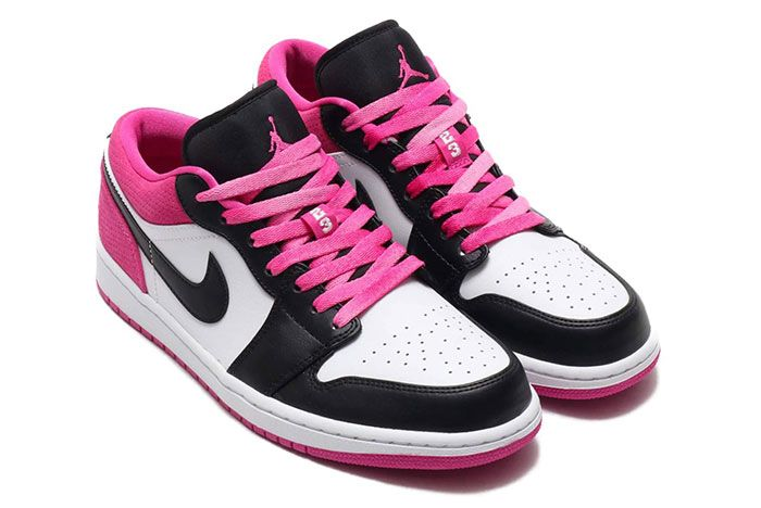 Air Jordan 1 Low Active Fuchsia Right 2