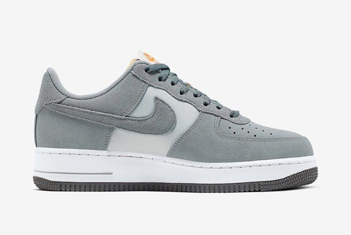 Nike Air Force 1 Cool Grey Medial