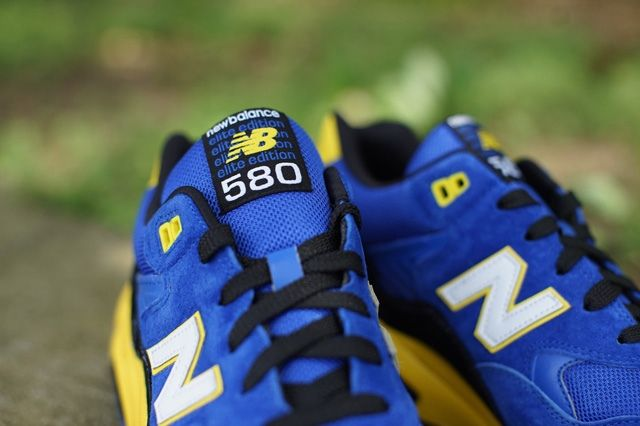 New Balance 580 Blue Yellow 3