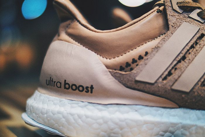 Adidas Ultra Boost Custom Jack The Ripper Tan Leather Small