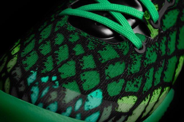 Kobe 8 System Nikeid Green Toebox 1