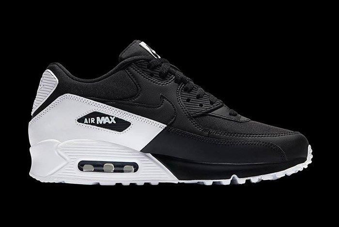 Nike Air Max 90 Essential Black White 3