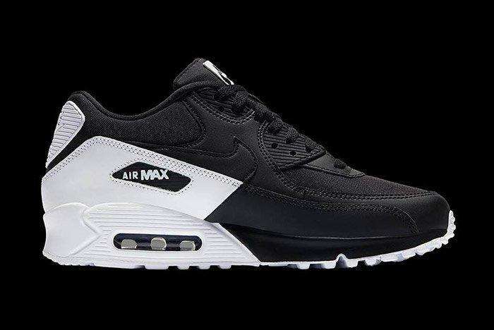 Nike Air Max 90 Essential Black White 3