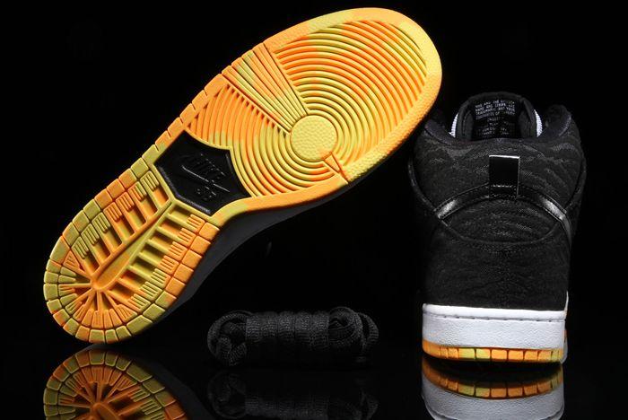 Nike Sb Dunk High Skunk 3