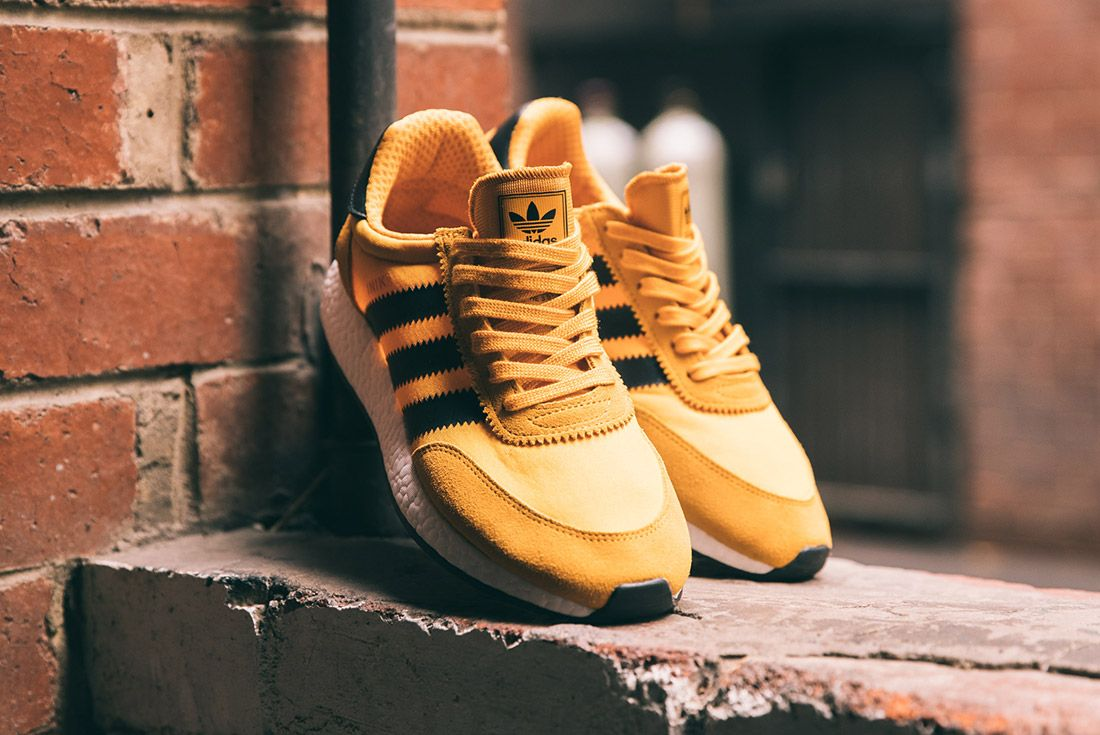 Adidas Iniki Runner Goldenrod Yellow 2