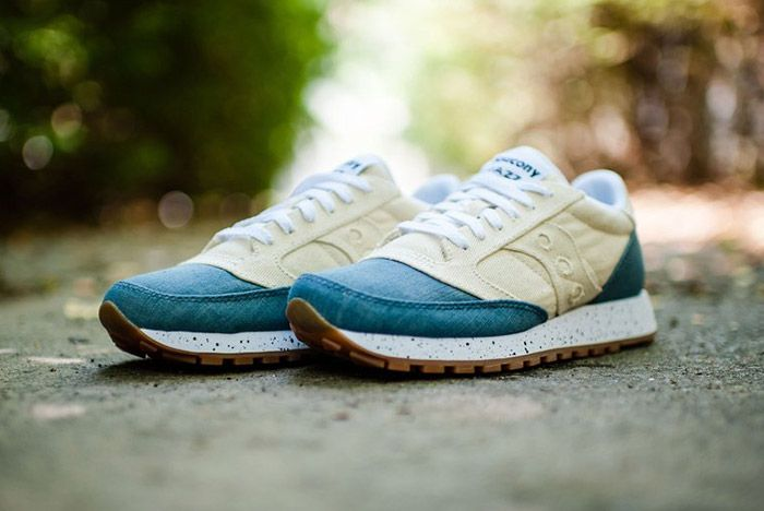 Saucony Jazz Original Denim White 3