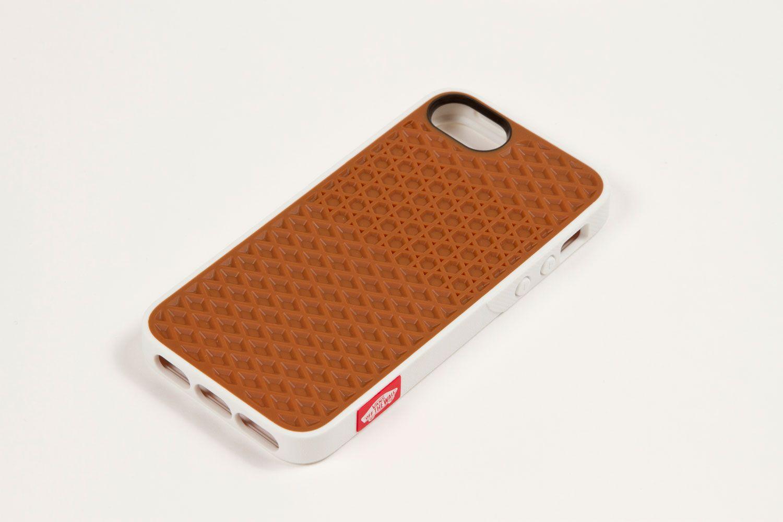 Vans X Belkin I Phone 5 Waffle Sole Case White Gum Opaque