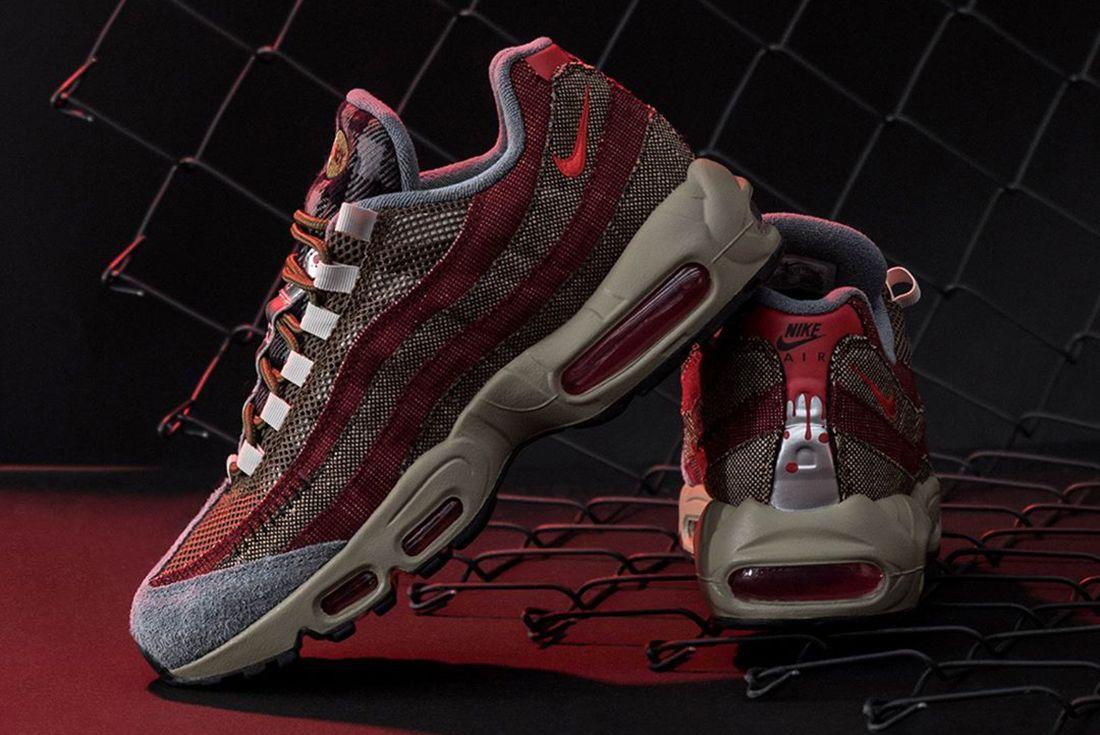 Where to Buy the Nike Air Max 95 'Freddy Krueger' - Sneaker Freaker
