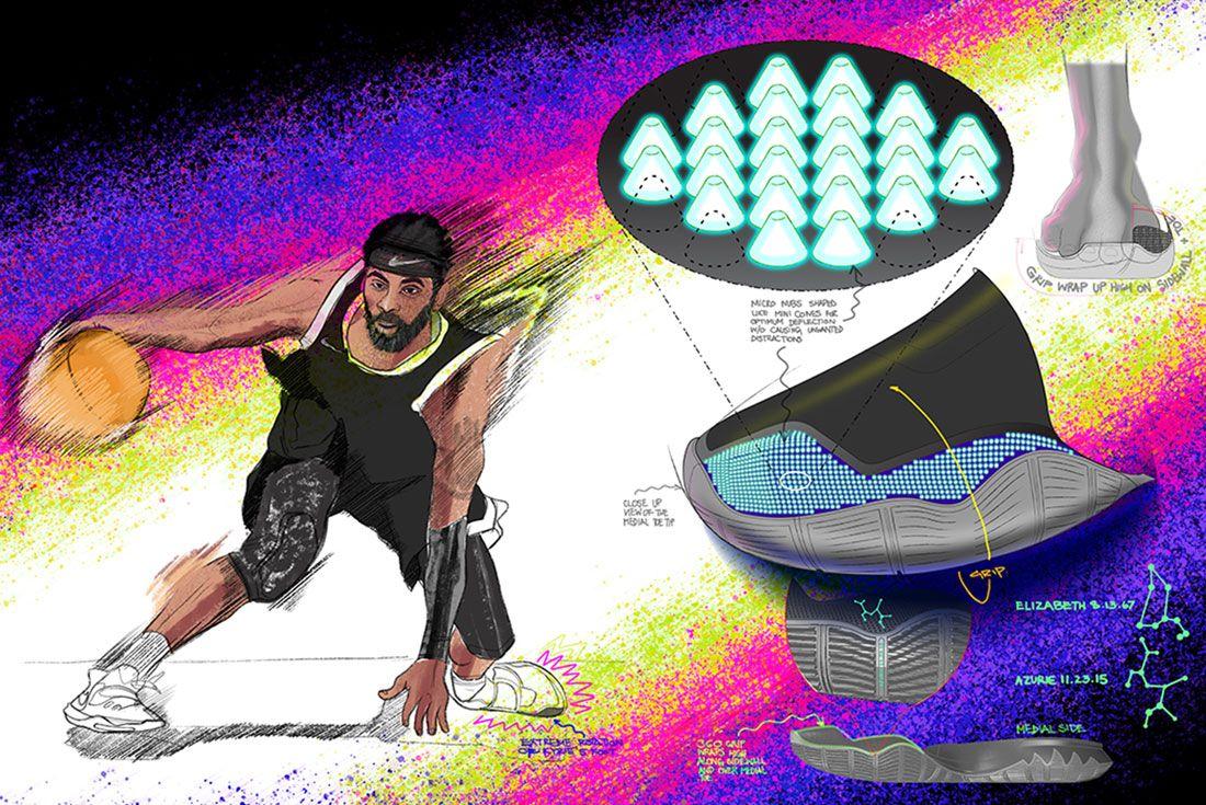 Nike Kyrie 6 Ben Sketches