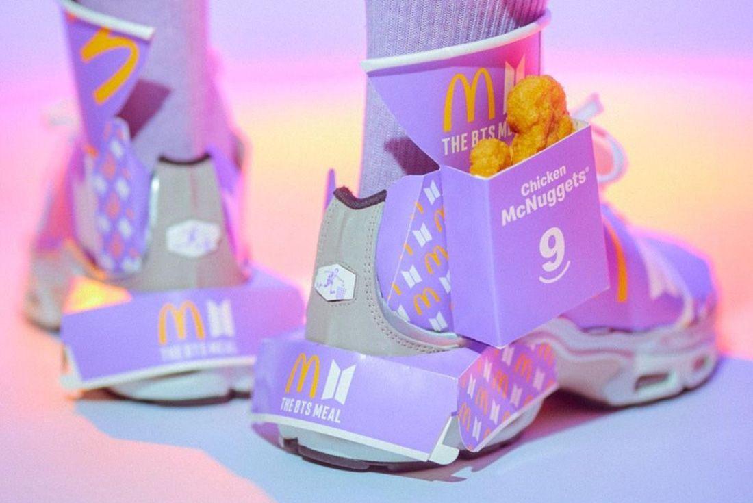 BTS x McDonald's x Nike Air Max Plus