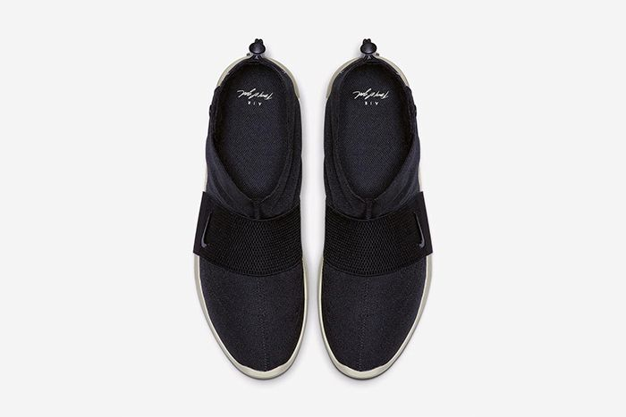 Nike Air Fear Of God Moccasin Official Black Release Date Top Down