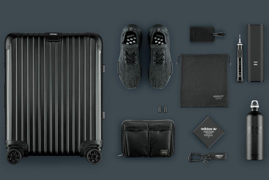 Adidas Originals Nmd R1 Pk ' Pitch Black' Utility Pack 1