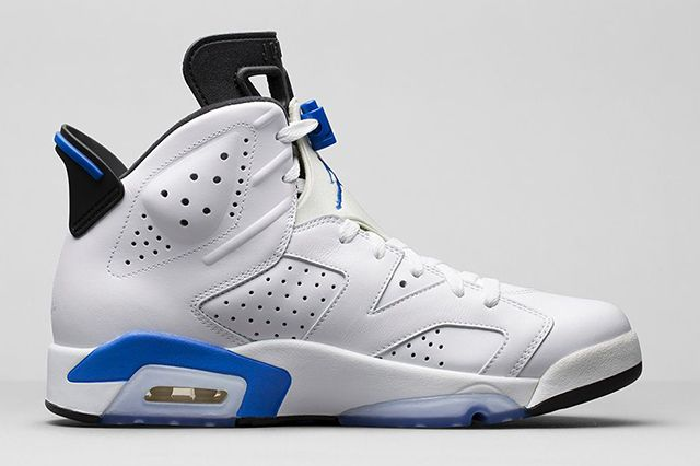 Air Jordan 6 Sport Blue 2