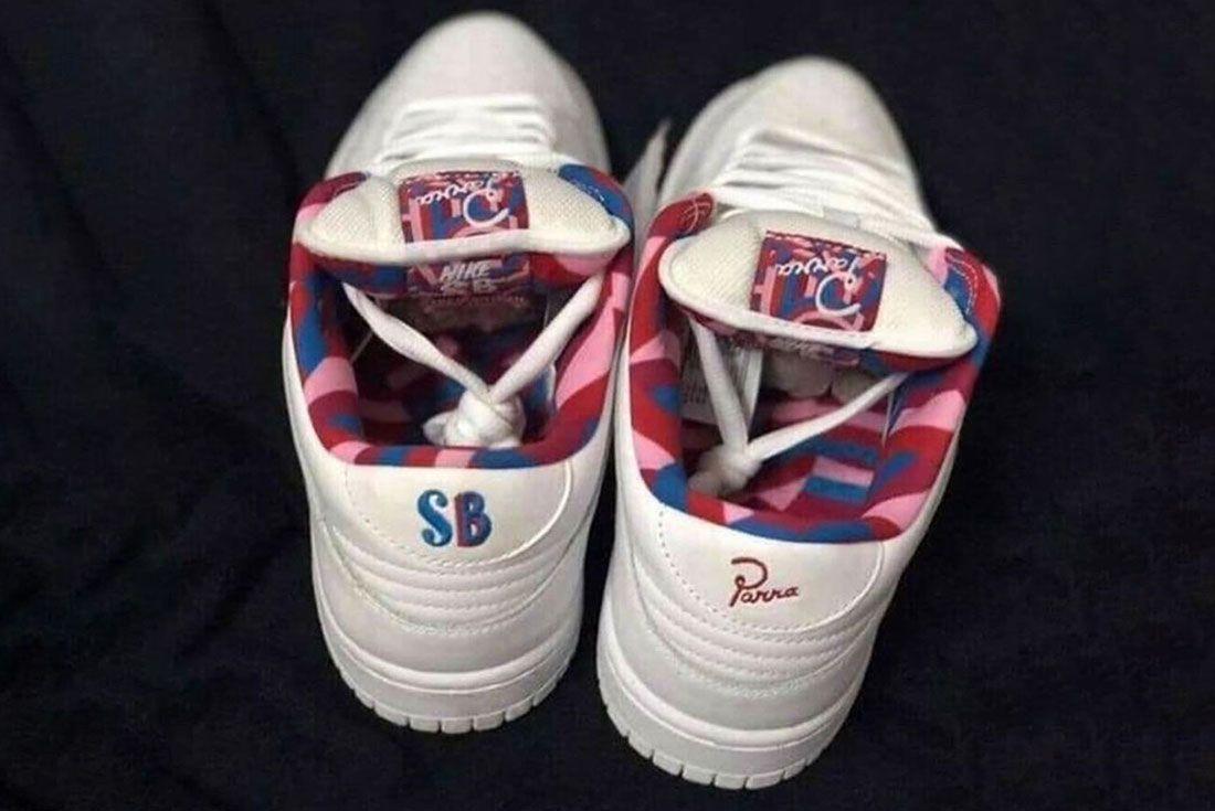 Parra Nike Sb Dunk Low 2 Heel