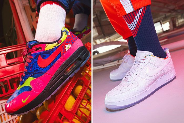 Nike Chinese New Year 2020 Rat Shoes Air Max 1 Air Force 1 On Foot