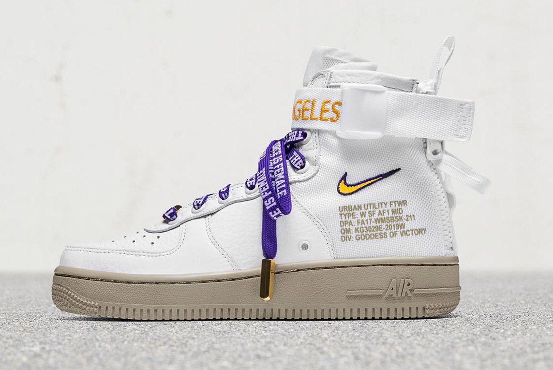 Nike Sf Air Force 1 La 6