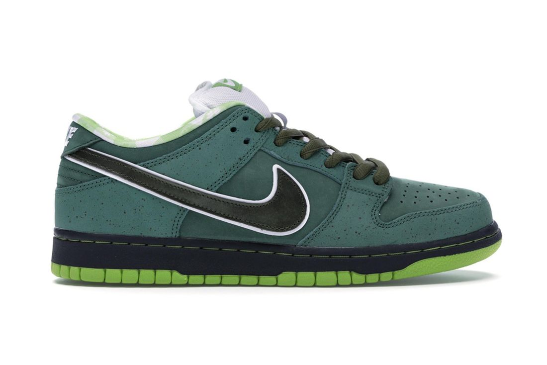 Concepts Nike Sb Dunk Low Green Lobster Bv1310 337 Lateral