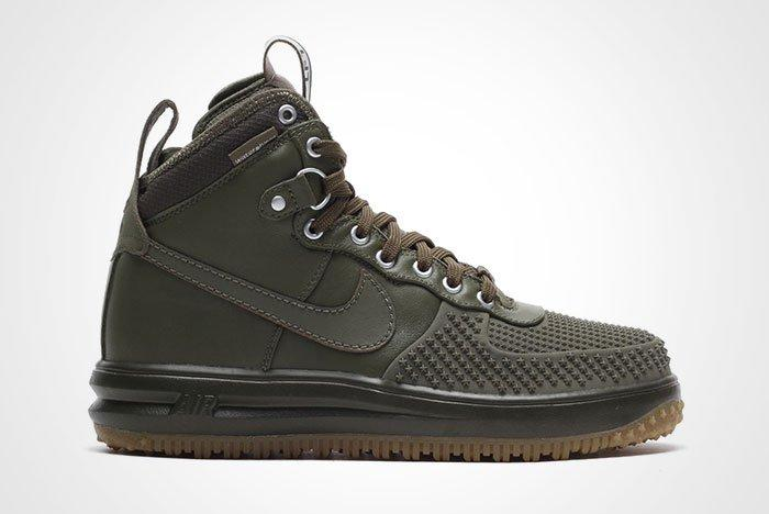 Nike Lunar Force 1 Duckboot Olive Thumb