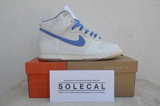 Nike Dunk White Blue 1