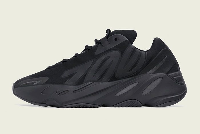 Adidas 700 Mnvn Triple Black Fv4440 Medial Side Shot