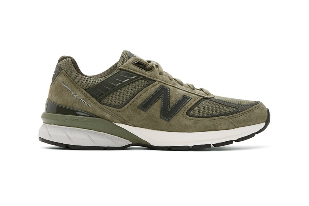 New Balance 990 Covert Green Right